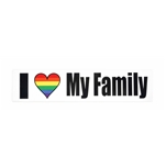 סטיקר I LOVE MY FAMILY
